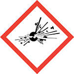 Pictogram for Explosive